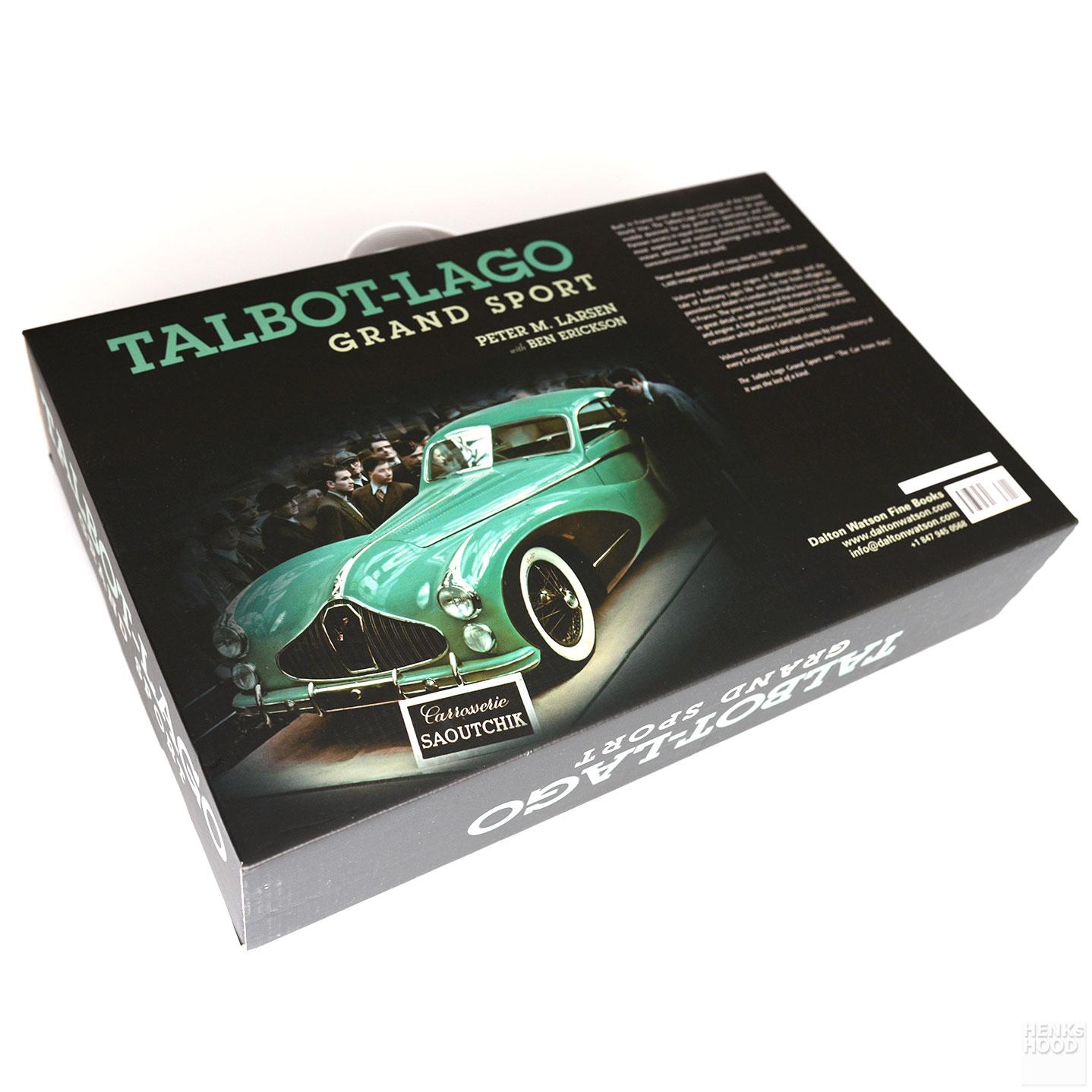 Peter M. Larsen: Talbot-Lago Grand Sport