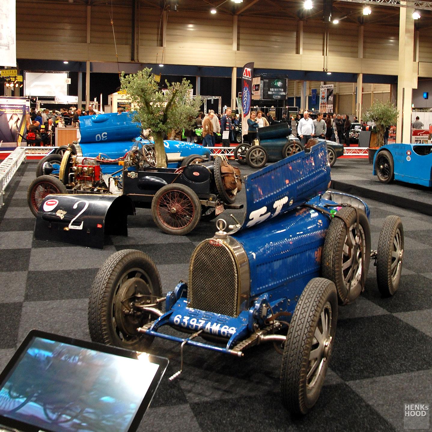 Exceptional GP Bugattis in Maastricht