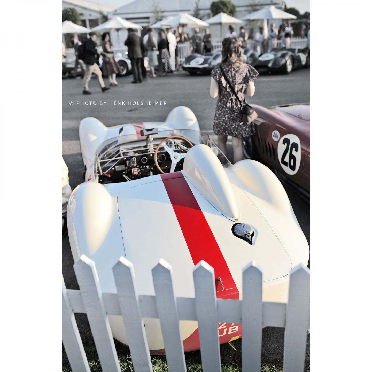 Maserati Birdcage, Goodwood Revival 2014