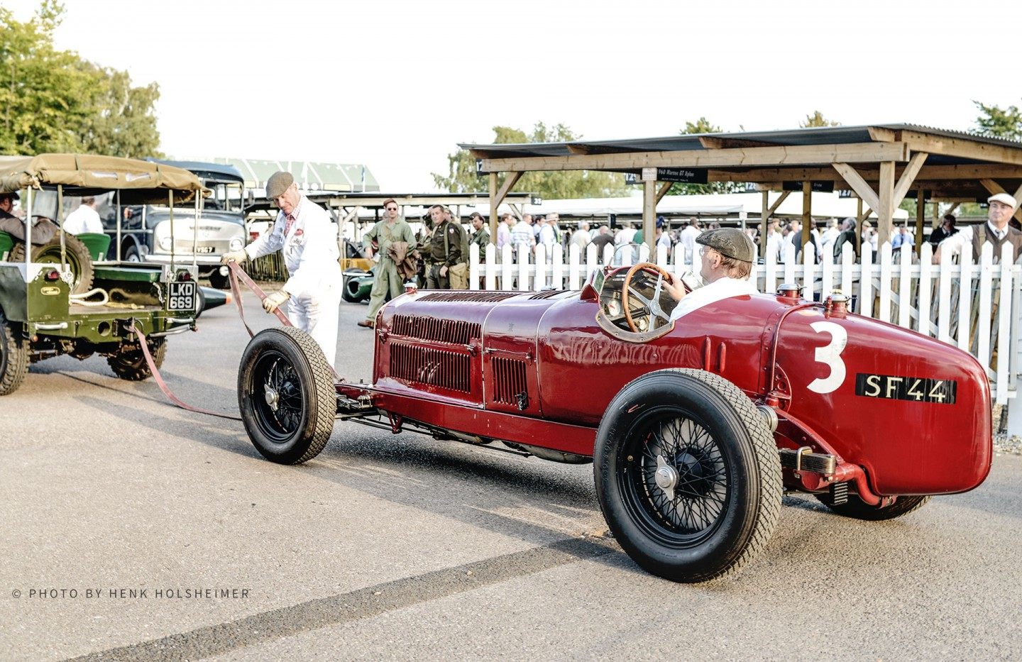 1934 Alfa Romeo Tipo B, Goodwood Revival 2014