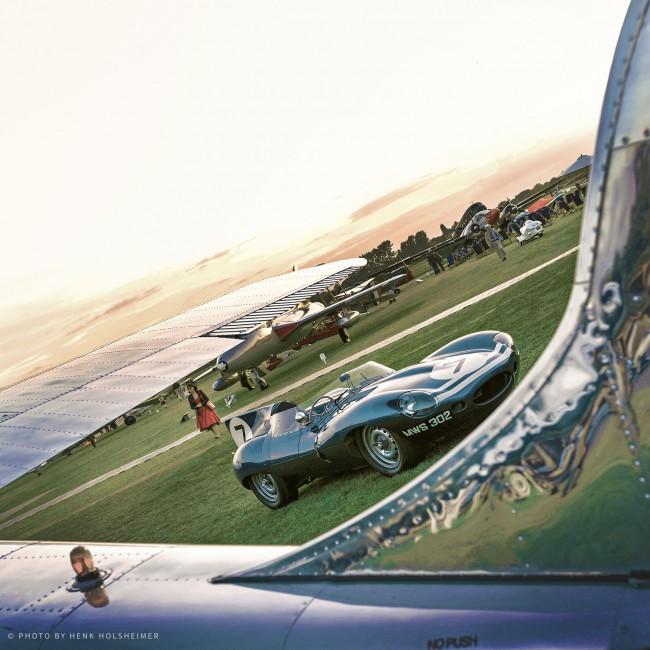 Jaguar D-Type, Goodwood Revival 2014