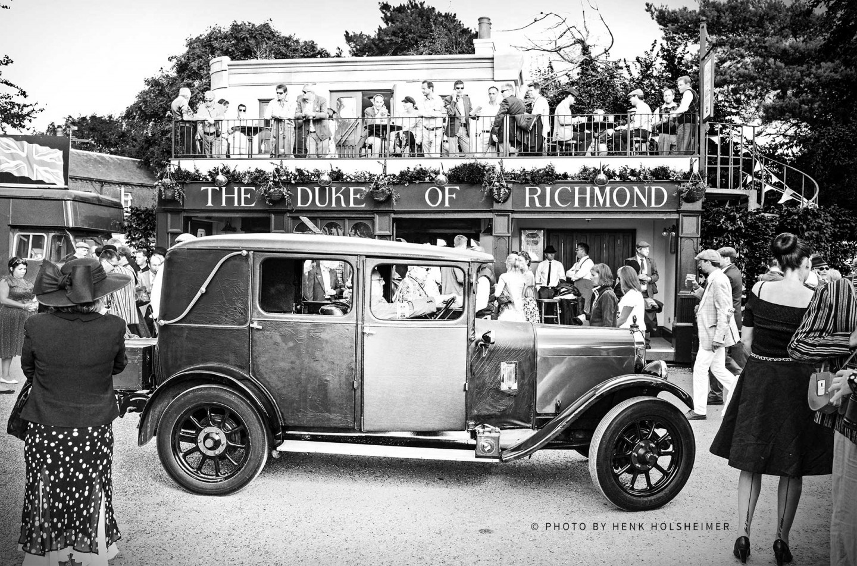 The Duke of Richmond, Goodwood Revival 2014