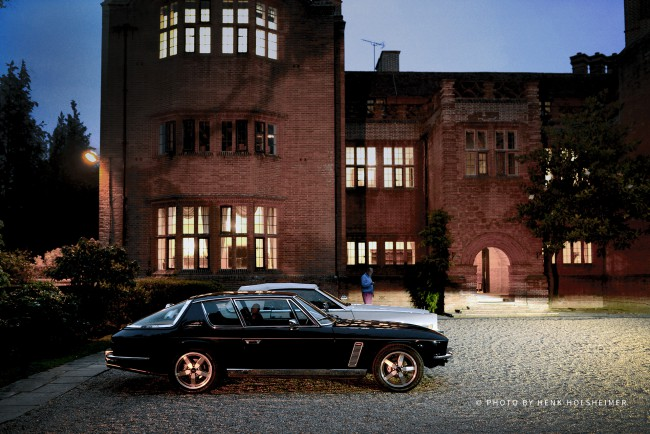 Jensen Interceptor at DeVere New Place Manor House, Shirrell Heath, England