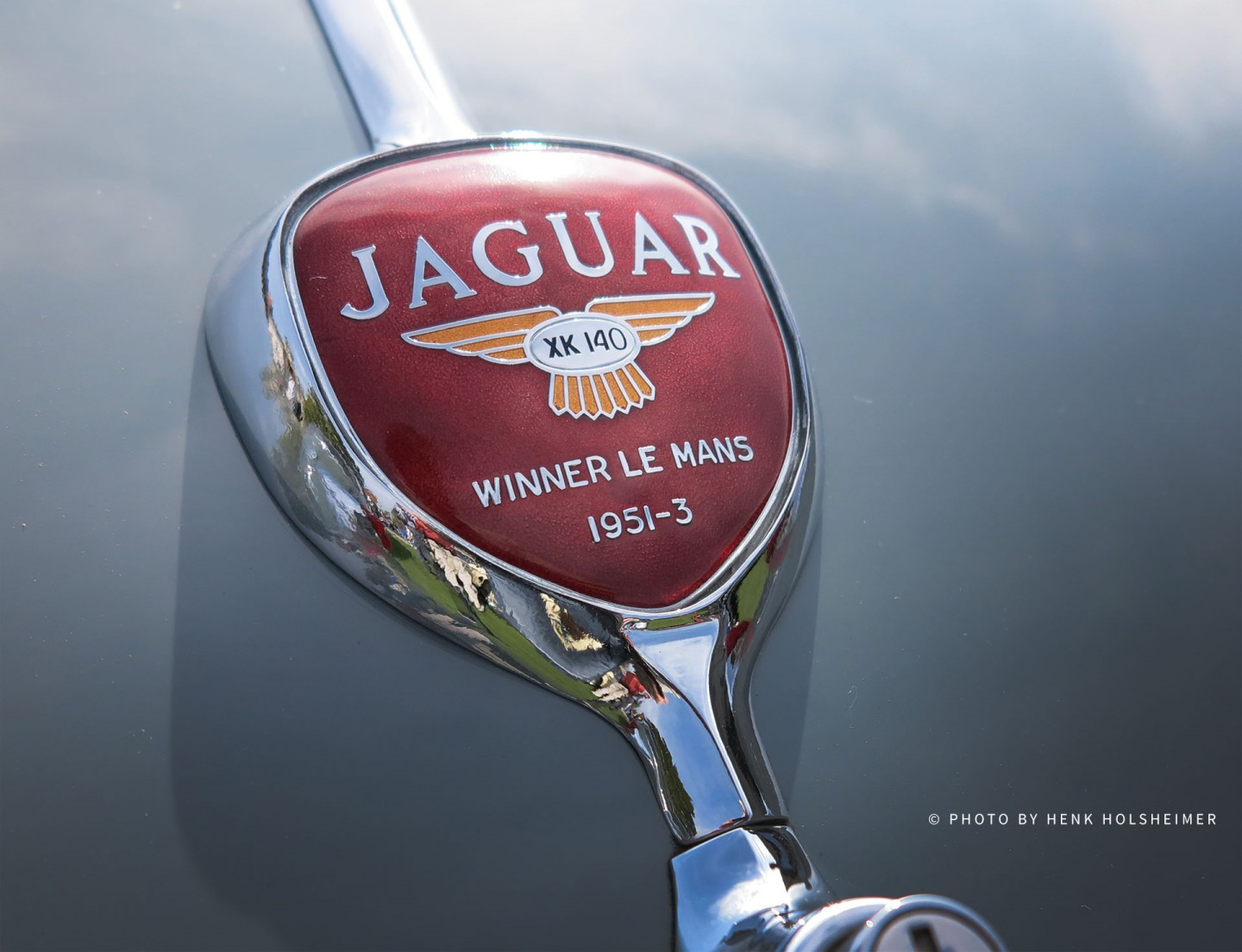 Jaguar XK140 Winner Le Mans 1951-3 Badge