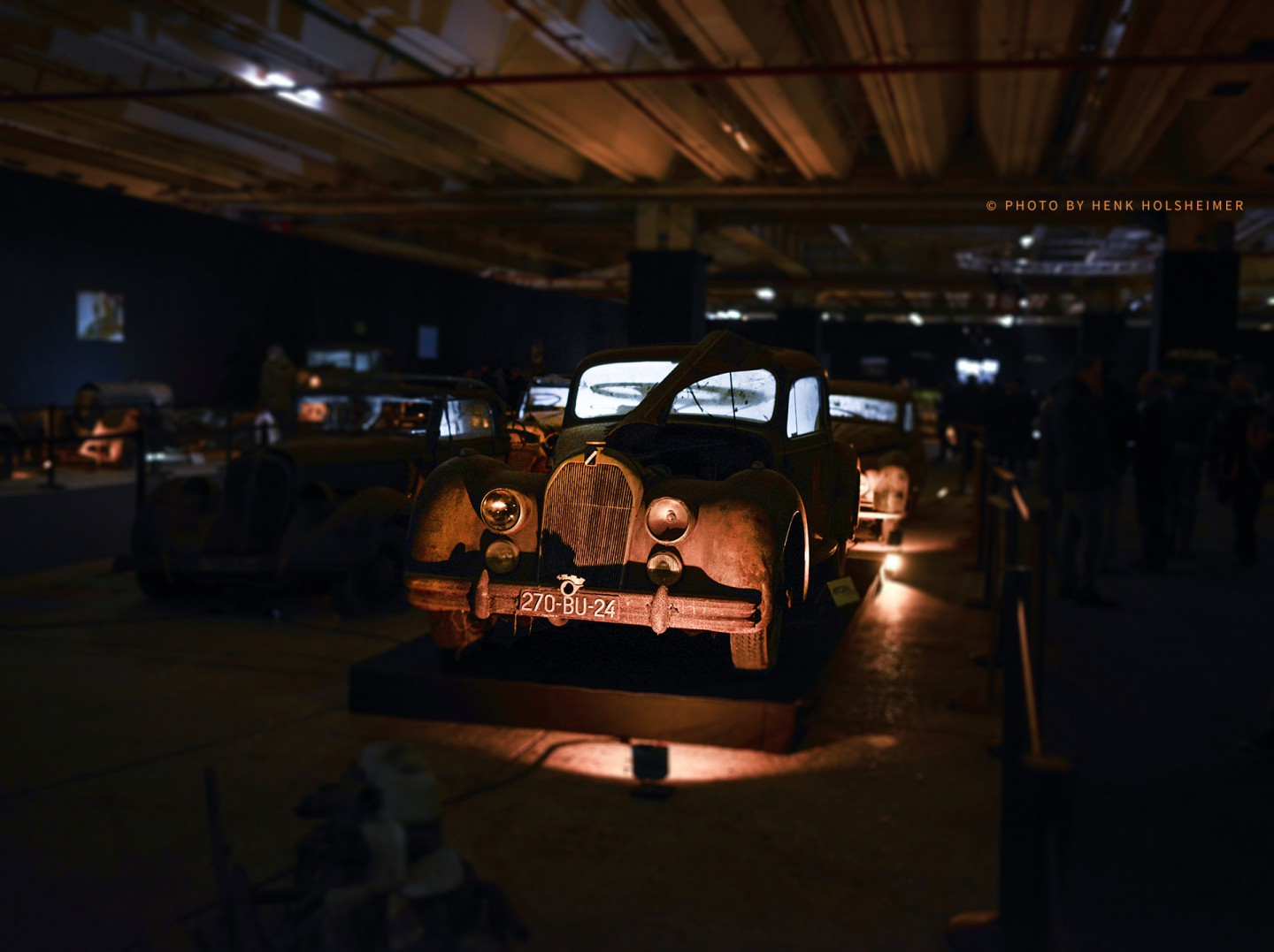Artcurial with the Baillon Collection @ Retromobile, Paris 2015