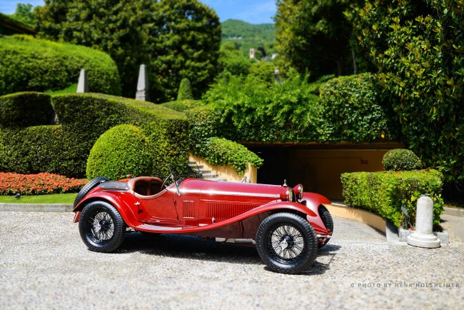 'Best of Show' at Villa d'Este 2015, Alfa Romeo 8C 2300 by Zagato