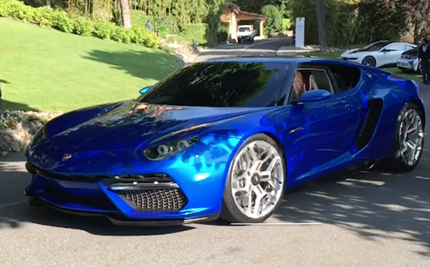 Video: Reflections and shading study - Lamborghini Asterion LPI 910-4