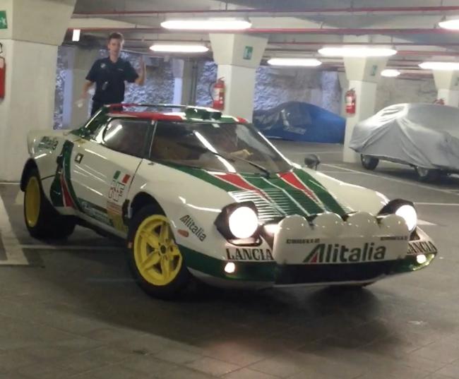 Engine sound: 1976 Lancia Stratos at Villa d'Este 2015